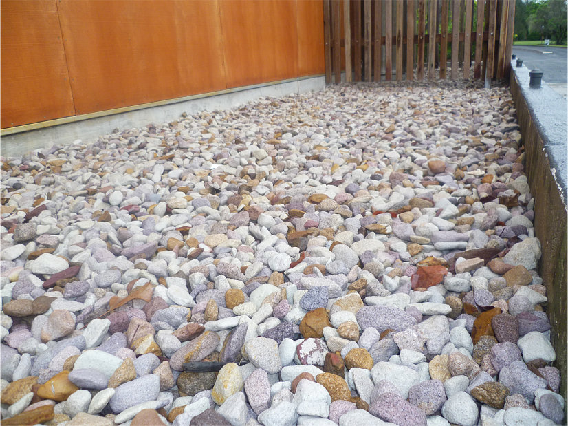 Dry River Bed Mixed stones